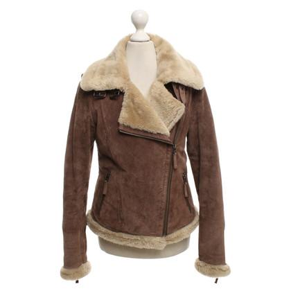 Oakwood Leather jacket in biker style