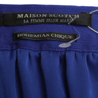 Maison Scotch Maxi rok in Royal Blue