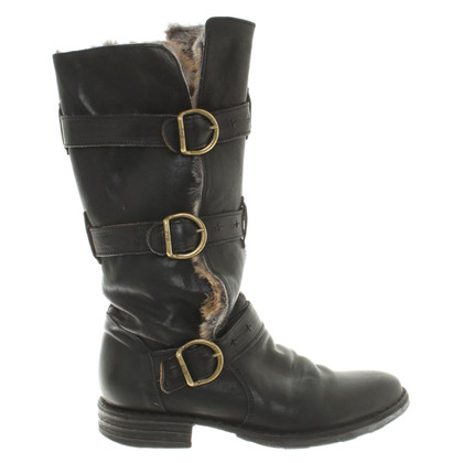 Fiorentini & Baker Boots with fur
