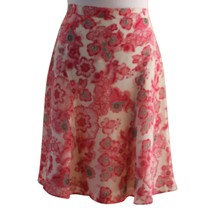 Burberry Floral skirt