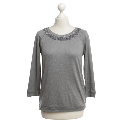 Max Mara top in gray
