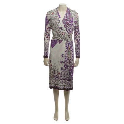Etro Kleid mit Mustermix