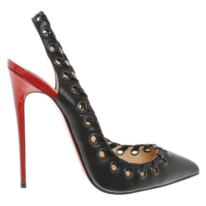 Christian Louboutin Leren stiletto