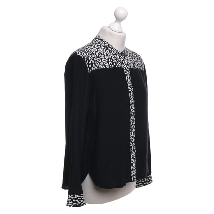 The Kooples Silk blouse with pattern