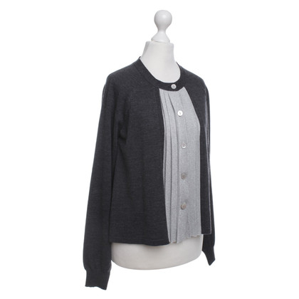 Moschino Love Cardigan in grigio