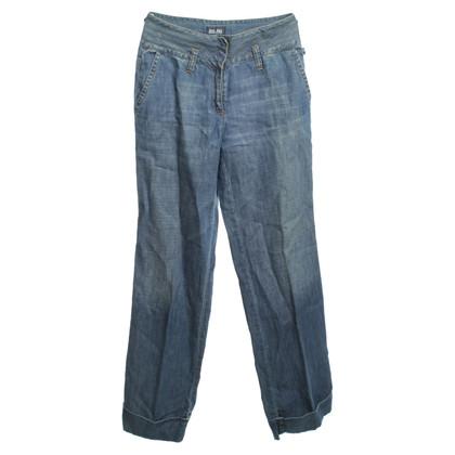 Jean Paul Gaultier Jeans in Blau