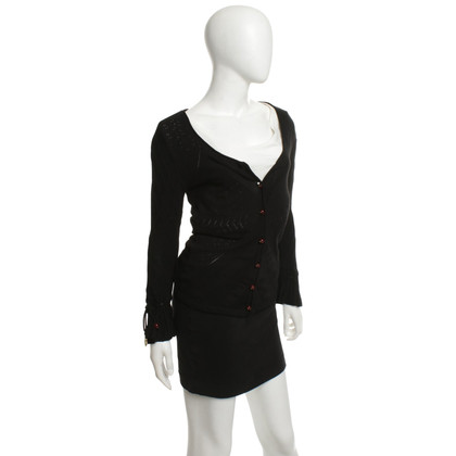 Just Cavalli Strickjacke in Schwarz