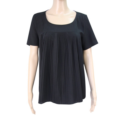 French Connection Pleated-top in black