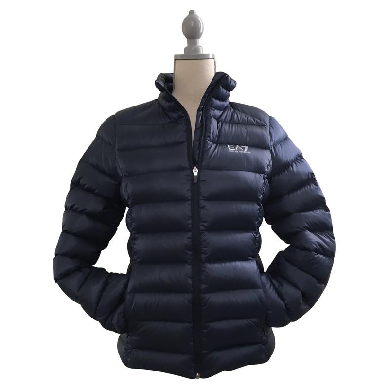 Armani mantel blau