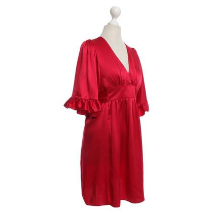 Andere Marke Betsey Johnson - Seidenkleid in Rot