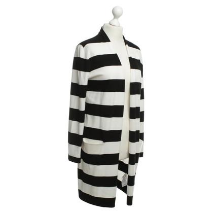 Laurèl Cardigan en noir/blanc