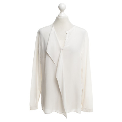 Akris Silk blouse in champagne