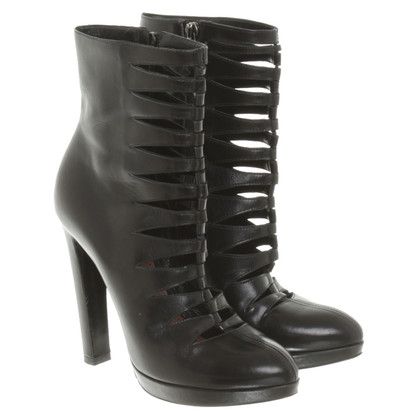 Alaïa Boots with cut outs