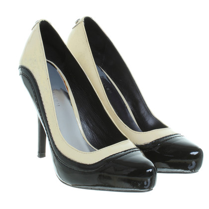 Karen Millen Pumps in black/cream