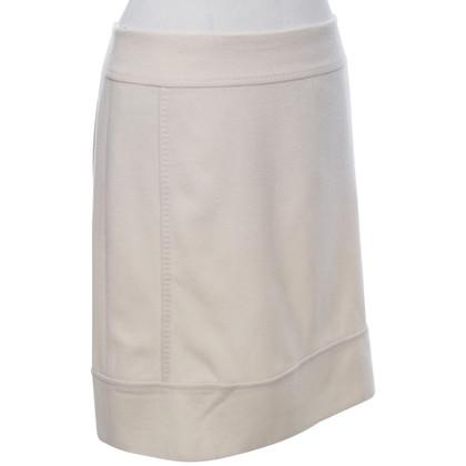 Max Mara skirt in cream