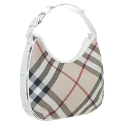 Burberry Handtasche mit Check-Muster
