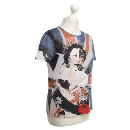 Alexander McQueen T-shirt with print motif