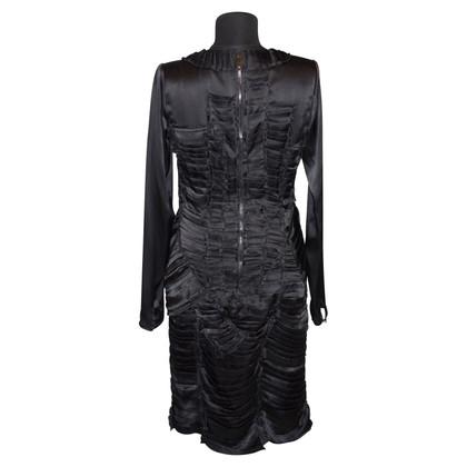 Burberry Prorsum Seidenkleid mit Drapierungen
