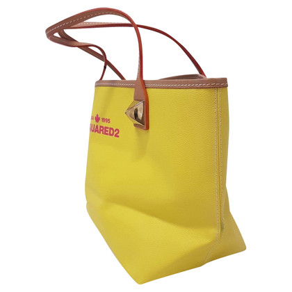 Dsquared2 Shoppers in yellow