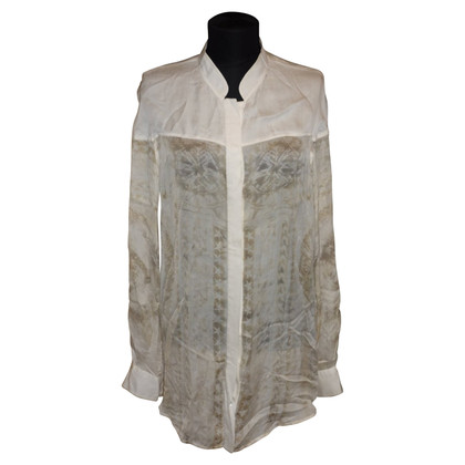 Balmain Silk blouse with print
