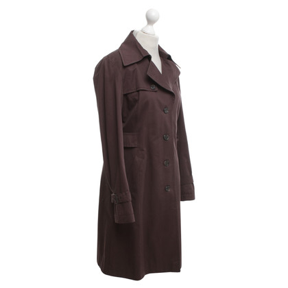 Cinque Trenchcoat in dark brown