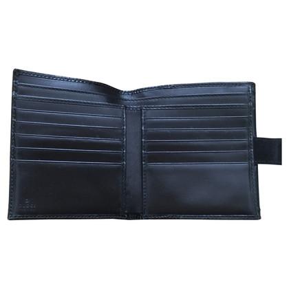 Gucci Portemonnaie aus Lackleder