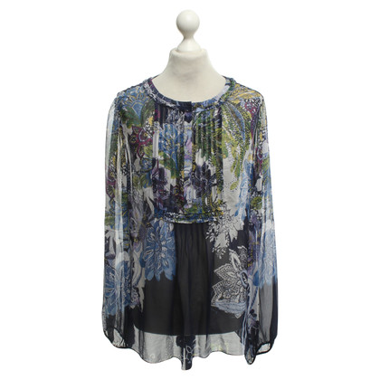 Elie Tahari Tunic blouse in multicolor