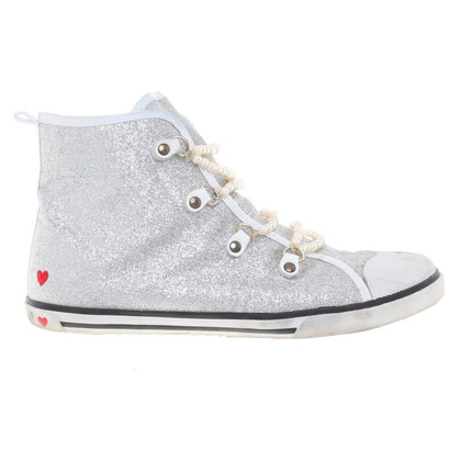 Moschino Love Sneakers in glanzende look