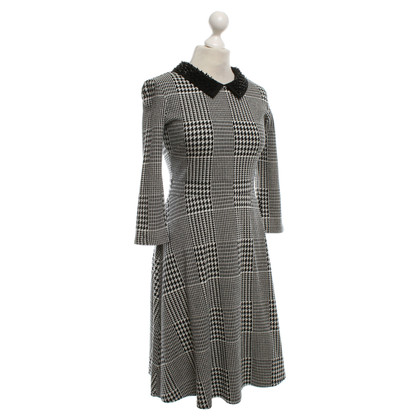 Max & Co Dress in black and white