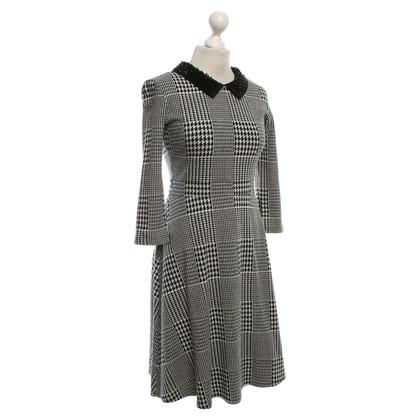 Max & Co Kleid in Schwarz/Weiß