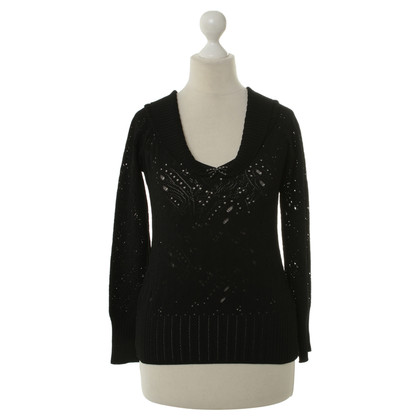 Christian Dior Black top with application