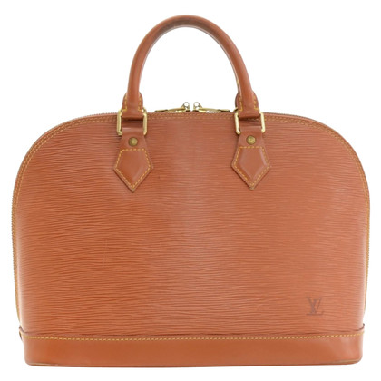 louis vuitton used bags. louis vuitton alma brown kenyan fawn epi hand bag used bags