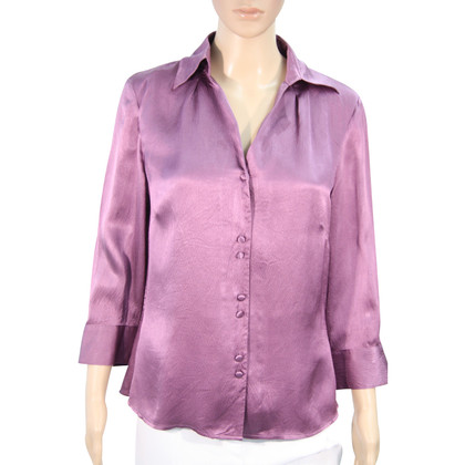 Hobbs Zijden blouse in paars