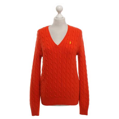 Ralph Lauren Pullover in Orange Orange
