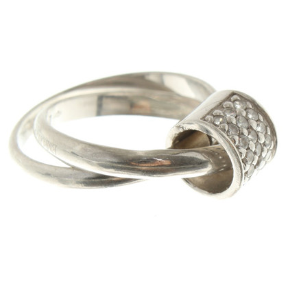 Armani Ring in zilver