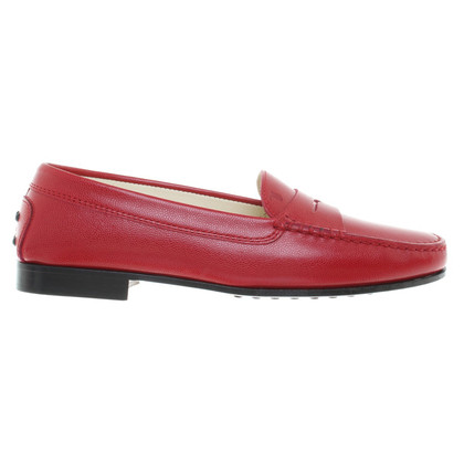 Tod's Loafers in Rot