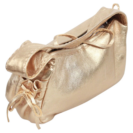 Prada Schultertasche Gold Besuchen Online-Verkauf Neu Günstig Kaufen Geniue Händler Auslass Geniue Fachhändler Freies Verschiffen Erstaunlicher Preis Billig Manchester 7v3SmYoBa9