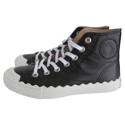 Chloé Hoge top sneakers