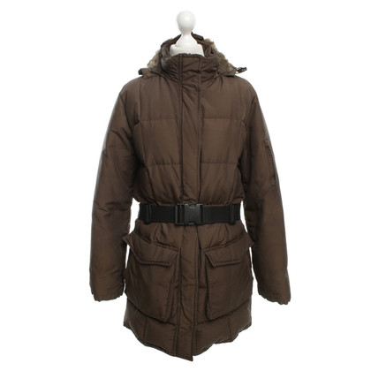 Woolrich Giù cappotto in Brown