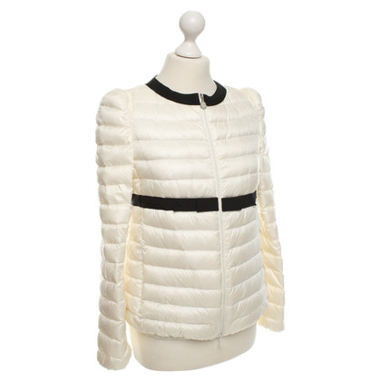 Moncler Down jacket in cream white