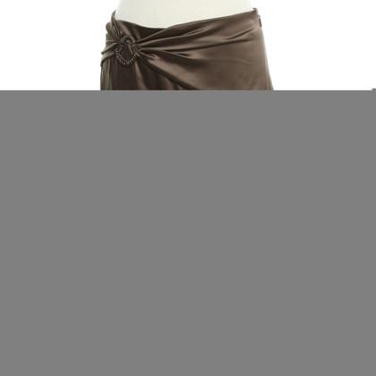 Roberto Cavalli skirt in brown