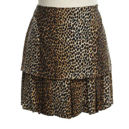 D&G Mini gonna con stampa animalier