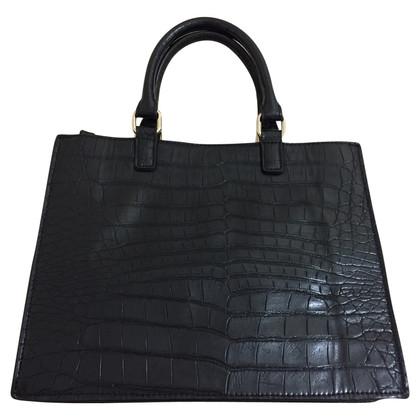 Blumarine Handbag in crocodile look