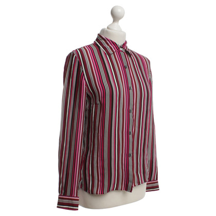 Michael Kors Silk blouse with stripes