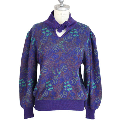 Emanuel Ungaro Emanuel Ungaro Paris wool blue sweater