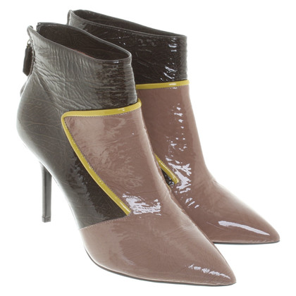 Pollini Ankle boots in nude / brown