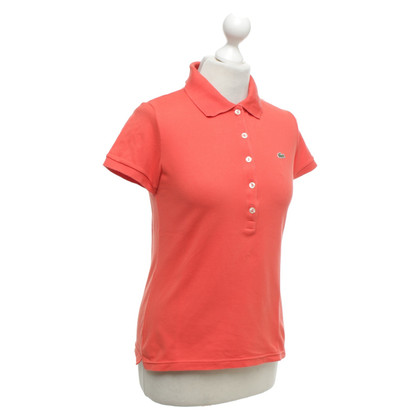 Lacoste Polo shirt in coral red