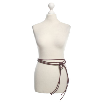 Bottega Veneta Belt straps pair mauve