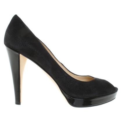 Calvin Klein Peep-toes in black