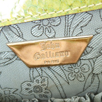John Galliano Shopper aus Schlangenleder